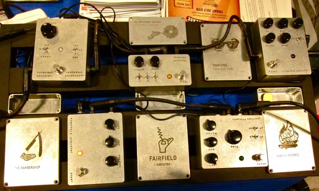 Fairfield pedals