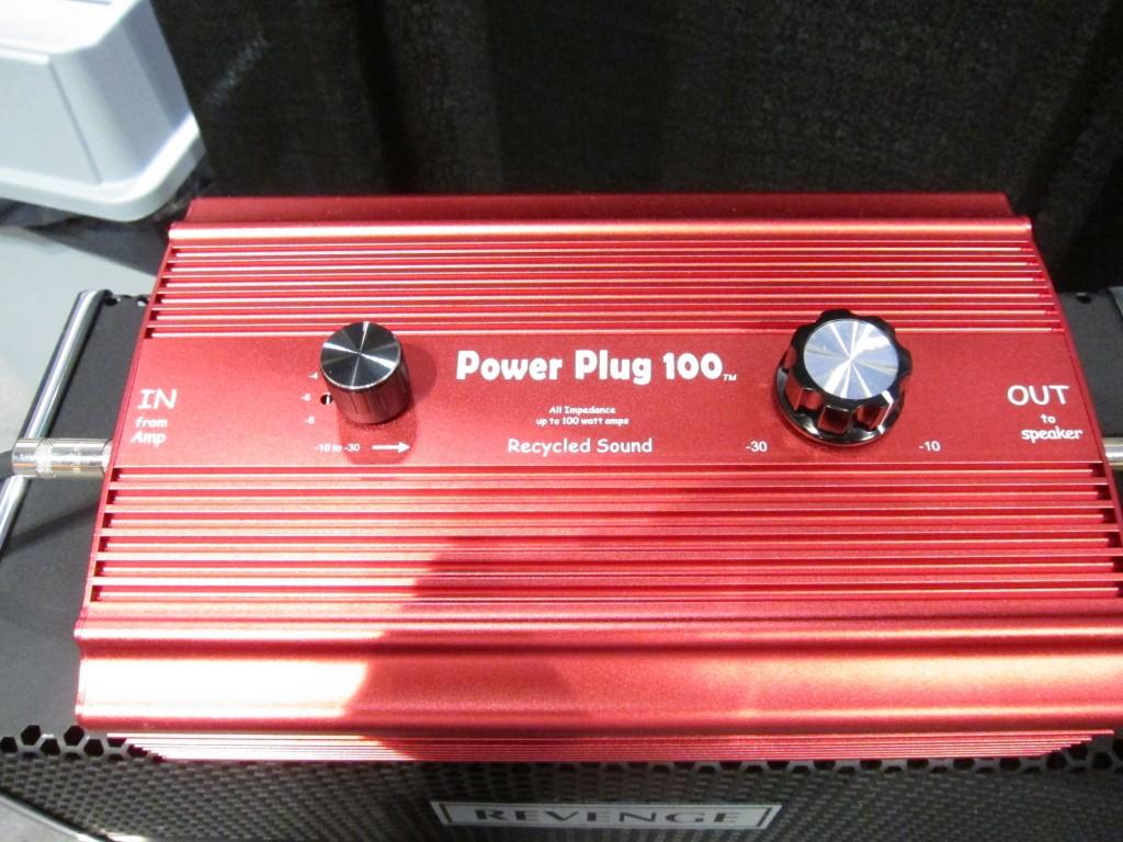 Power plug attenuator