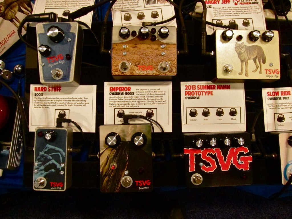 TSVG pedals