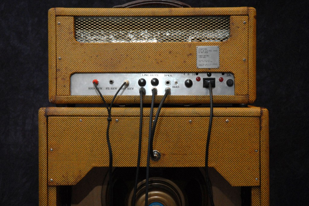 back of amp