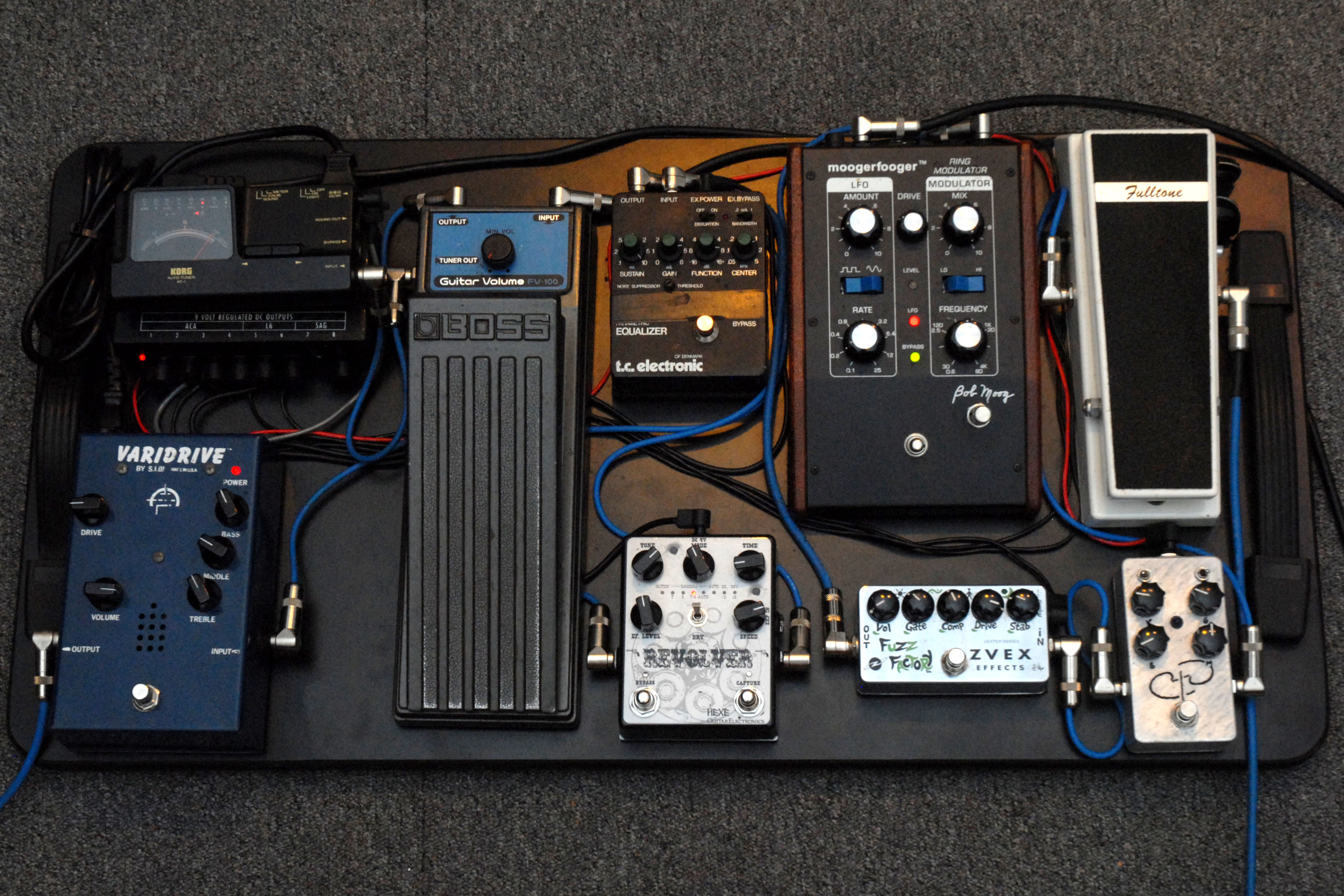 Readers Rig Ian Smit Guitar Moderne Wiring A Pedal Board 1