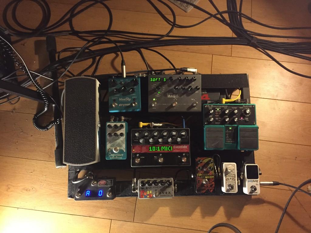 eric's pedalboard