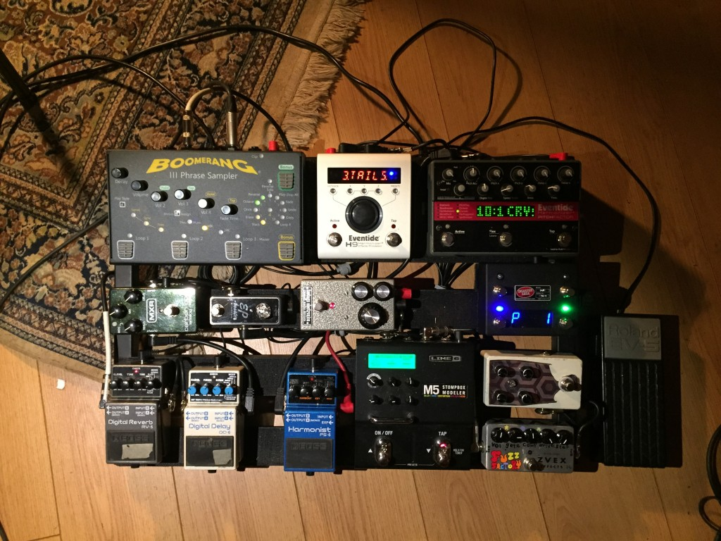 kevin's pedalboard