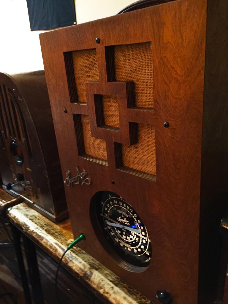 Radio amp copy