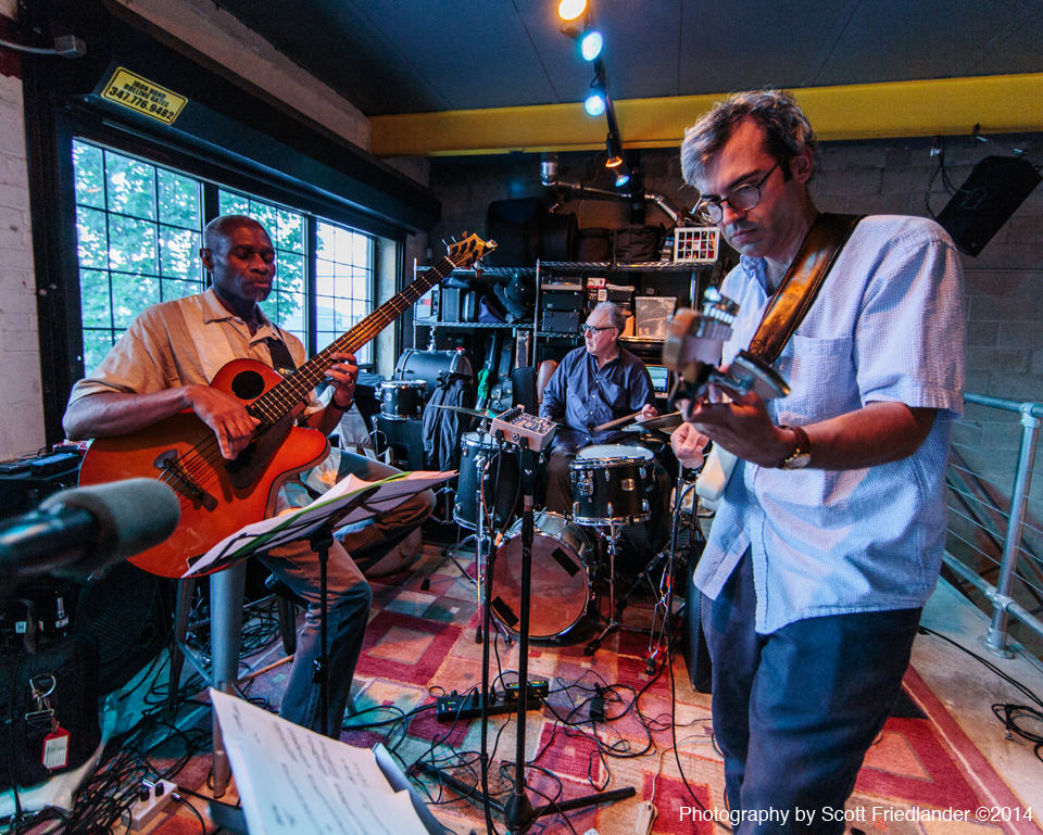 Mike Baggetta Trio with Jerome Harris and Billy Mintz: 06-20-14 Six String Summit @ Singlecut Beersmiths in Astoria NY