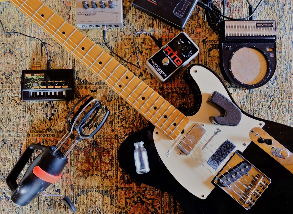 Prepared guitar